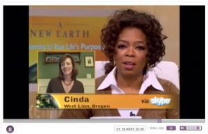 Cinda Lonsway on Oprah